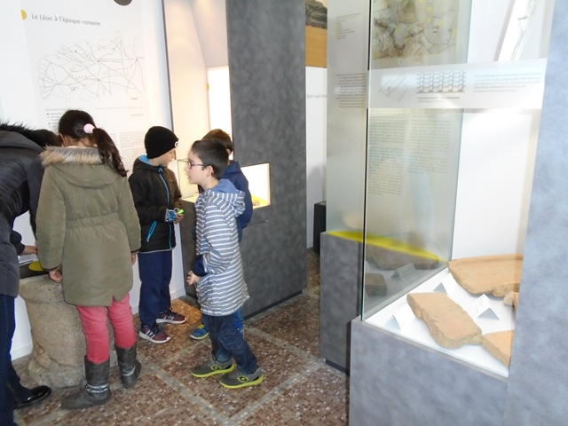 CE2 A & B : Musée du Léon