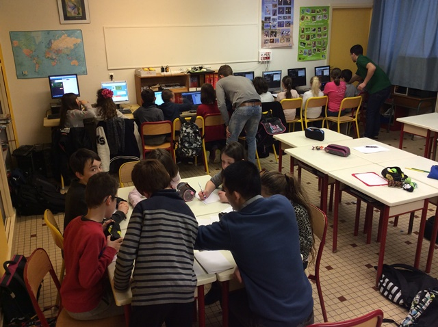 CM : Les secrets du code informatique dévoilés aux élèves de l'Argoat