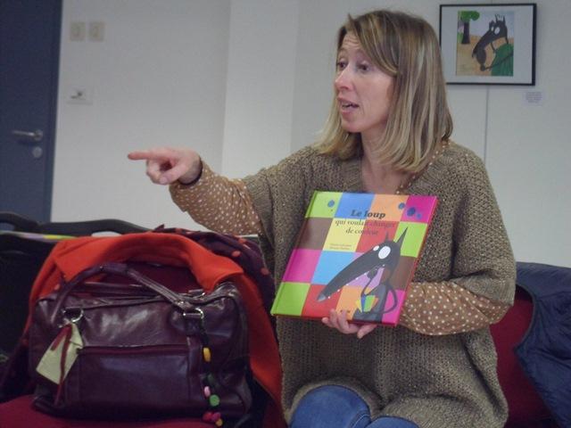 GS : Les élèves rencontrent l'auteure Orianne Lallemand