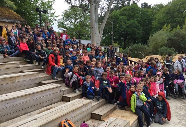 CE1 & CE2 : Visite à Pont-Scorff