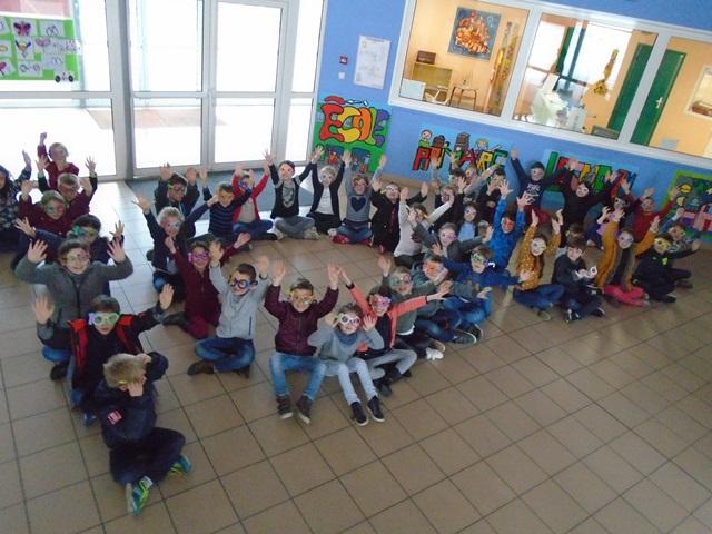 CP & ULIS : Le 100ème jour d'école à l'Argoat