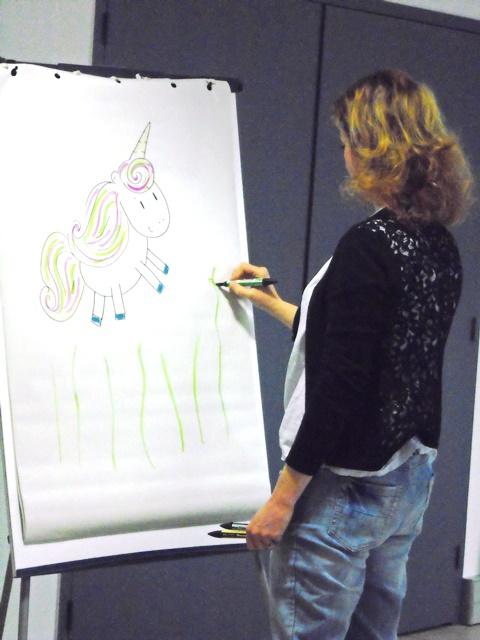 Rencontre avec l'auteur – illustrateur Géraldine Harry