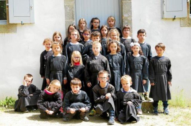 CE1 : Une journée à l'école d'autrefois
