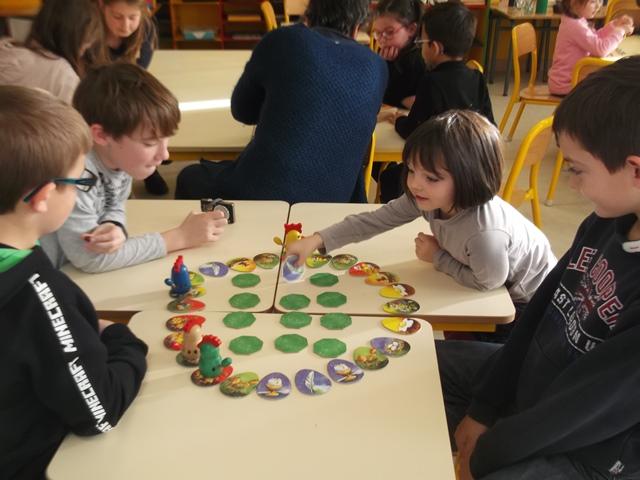 Ecole : Matinée de partage