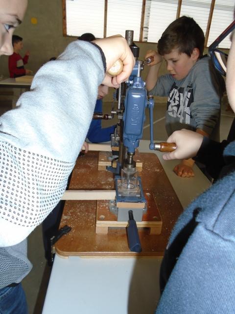 Projet d'école : Construction de jeux en bois