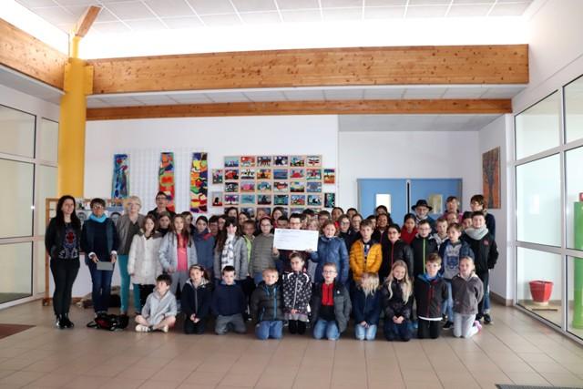 École de l'Argoat : 1 165 € pour l'asso AMB Madagascar