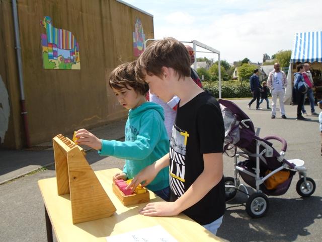 Fête de l'école : Autour du jeu