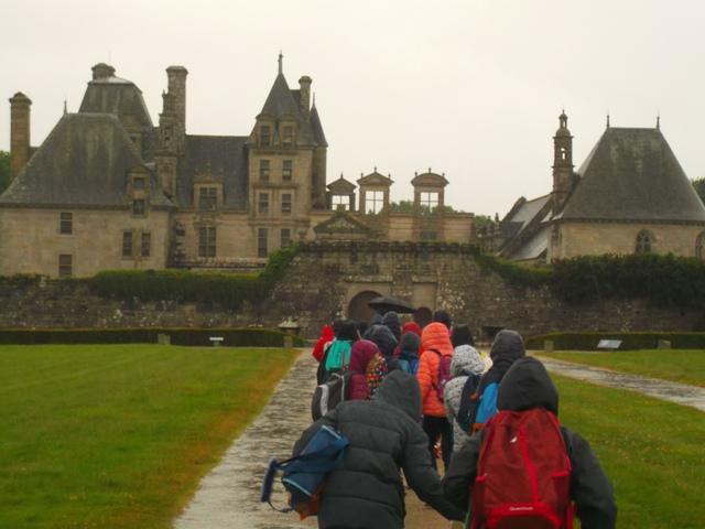 CM1 A & B :  Visite au Château de Kerjean