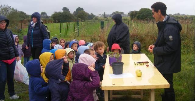 Verger pédagogique : à la découverte de la pomme