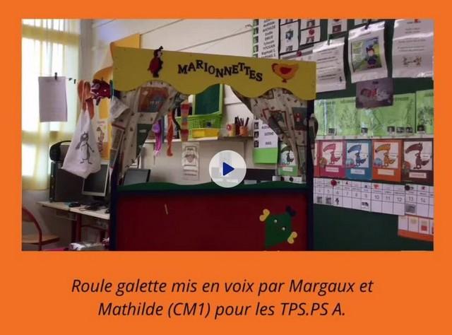 TPS/PS A : Mise en voix d'album par des élèves de CM1
