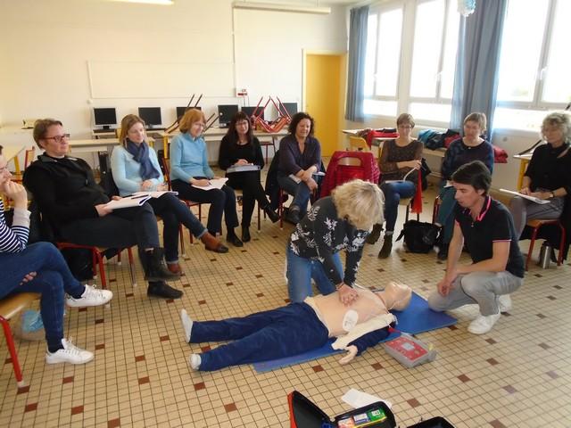 Personnel : Formation aux premiers secours