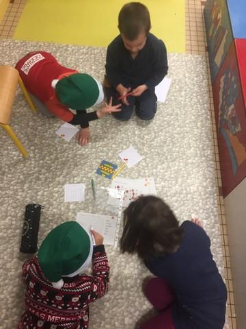 GS/CP Bilingue : Défis de Noël