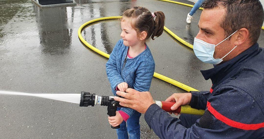 TPS/PS A et B : Visite à la caserne des pompiers